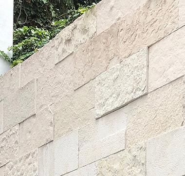 Muro a base de Piedrin